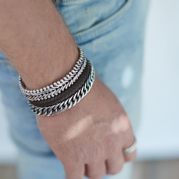108 Armband Heren DOUBLE LINKED Collectie