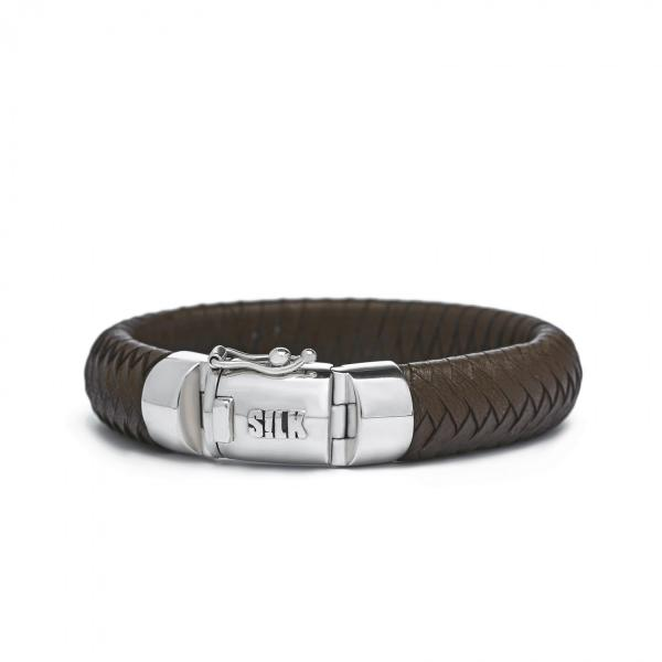 381BRN Armband Bruin ARCH Collectie