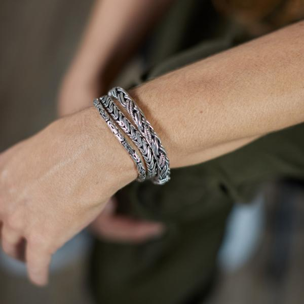 387 Armband Dames DOUBLE FOX Collectie