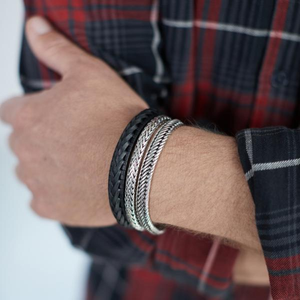743 Armband Heren WEAVE Collectie