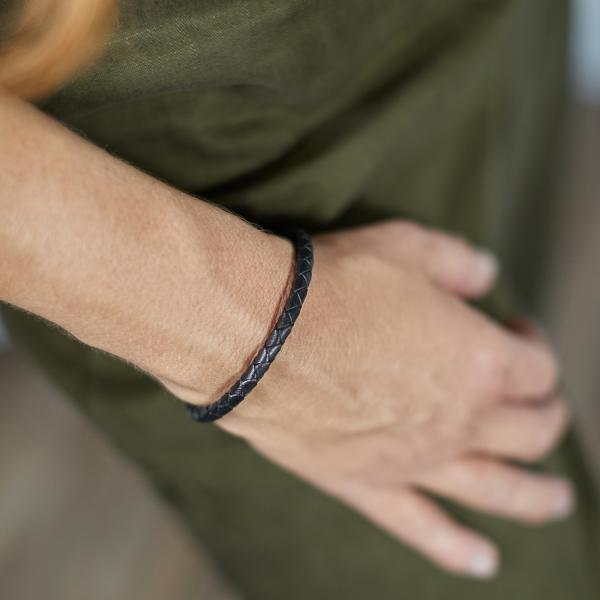 830BLK Armband Zwart Dames ROOTS Collectie
