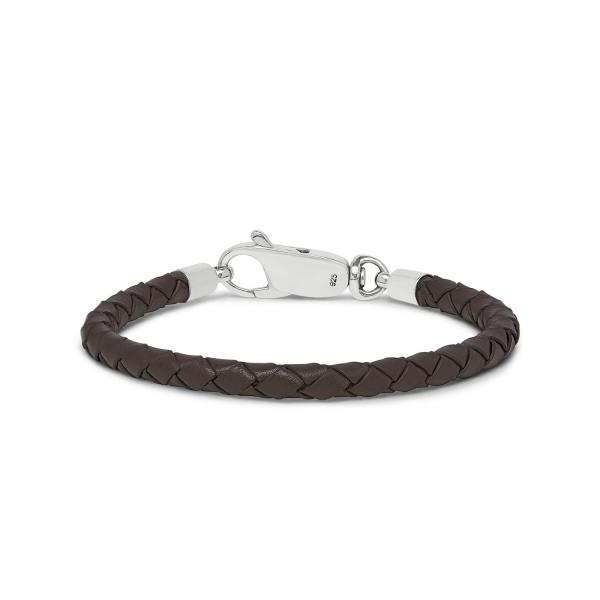 830BRN Armband Bruin ROOTS Collectie