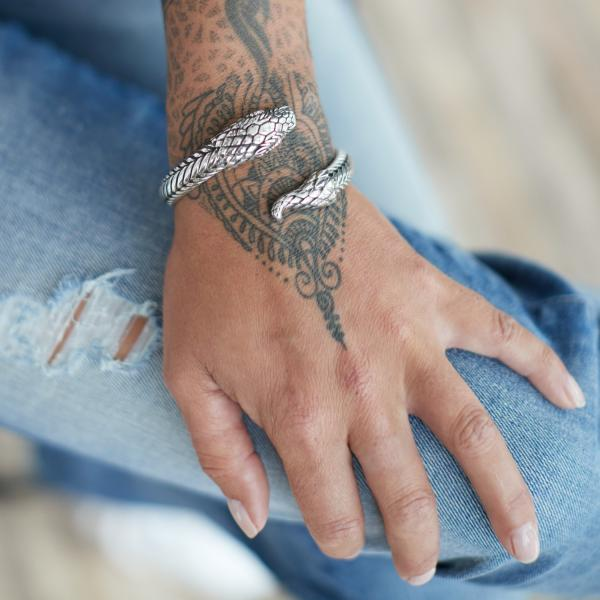 S22 Armband Zilver Dames Fierce Collectie
