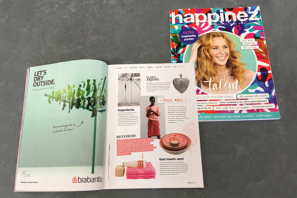 SILK gespot in Happinez Magazine